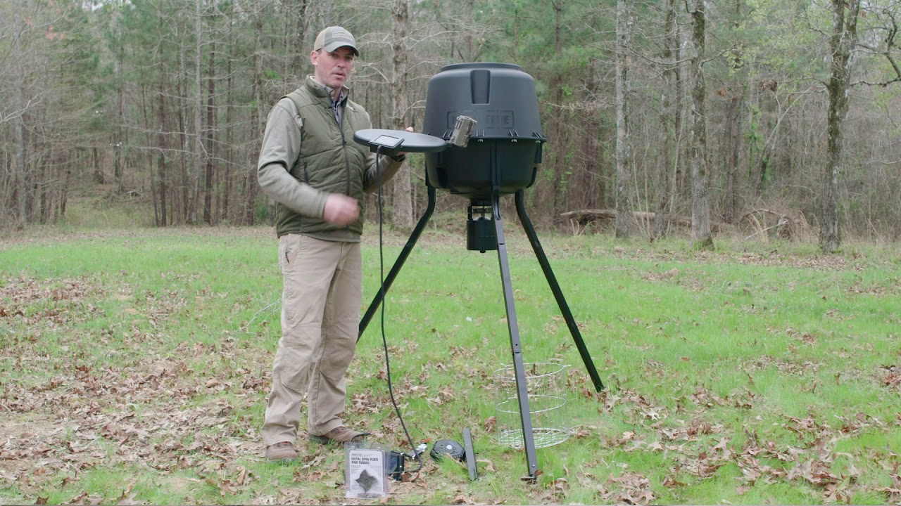 moultrie deer feeder parts